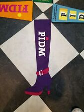 Fdim Lot 4 Fashion Institute Of Design And Merchandise Collegiate Wool Pennant