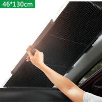 46*130cm Car Retractable Front Rear Window Sun Shade Visor Windshield Cover