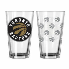 TORONTO RAPTORS NBA PREMIUM 2 PACK PINT GLASS SET IN GIFT BOX SHIPS FROM CANADA