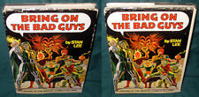 MARVEL FIRESIDE: BRING ON THE BAD GUYS, HARDCOVER, HC, FIRST PRINTING, 1976