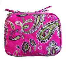 """A.D. Sutton 8"""" Tablet Case Floral Quilted Cotton Pink Green Black Paisley"""