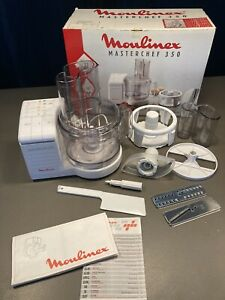 Moulinex Masterchef 350 Food Processor - Boxed