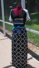Jacksonville Jaguars Short Sleeve Maxi Dress Upcycled T-Shirts Large
