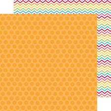 "Doodlebug Designs Sunkissed ""Hello Sunshine"" 12x12 paper 2 pcs"
