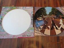 "THE BEATLES ""ABBEY ROAD"" - USA LP PICTURE DISC - SEAX 11900 -  EMI 1978"