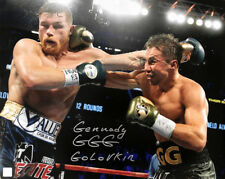 """Gennady """"GGG"""" Golovkin Autographed 16x20 Photo vs Canelo ASI Proof"""
