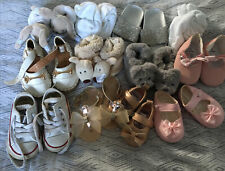 Baby Girl Shoes And Slippers (12 Pairs)