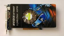 Very rare vintage Geforce 7950GT AGP 512 MB DDR3 TVO DVI fastest AGP Nvidia