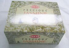 Hem Precious Jasmine Incense Cones, Bulk Lot 12 Pack of 10 Cones, 120 Total!