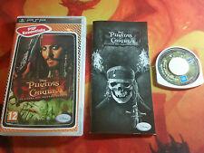 PIRATAS DEL CARIBE EL COFRE DEL HOMBRE MUERTO PARA SONY PSP COMBINED SHIPPING