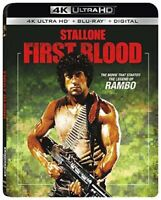 Rambo: First Blood Part 1 (1982 Sylvester Stallone) 4K ULTRA HD BLU-RAY NEW