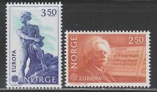 Norway  Sc. 823 - 824 Grieg Abel Europa 1983 MNH