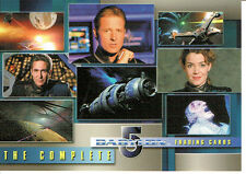 COMPLETE BABYLON 5 PROMO CARD P1