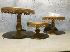 Round Cake Plate Stands