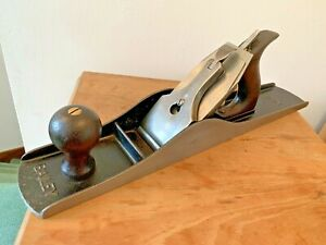 Antique  Stanley Bailey No 6  Fore Plane.US PAT APR-19-10. Rosewood Handles