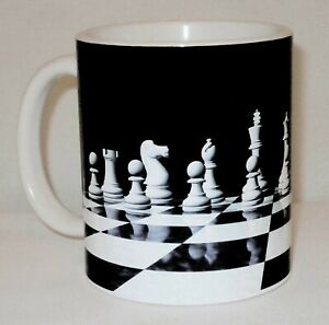 Chess Mug Can Be Personalised Great Strategy Board Game Player Tournament Gift