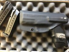 Steyr M9-A1 9/40 right handed black IWB kydex concealment holster