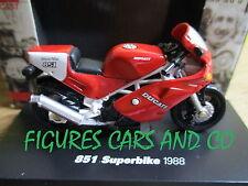 MOTO 1/32 DUCATI 851 SUPERBIKE 1988 MOTORCYCLE MOTORRAD