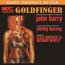 CD Goldfinger - James Bond 007 - John Barry - Soundtrack / OST / IMPORT