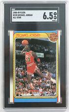 1988-89 MICHAEL JORDAN ALL-STAR BULLS BASKETBALL CARD SHARP CORNERS SGC 6.5