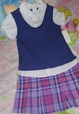 WonderKids Uniform Play Formal Dress Size 4