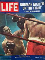 MUHAMMAD ALI vs. JOE FRAZIER March 1971 LIFE Magazine NORMAN MAILER ON THE FIGHT