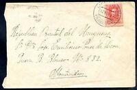 SPAIN TO URUGUAY, NAVARDA Cancel on Cover, 1927