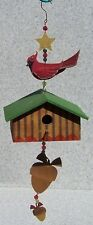 Bird House Cardinal NEW wood