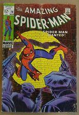 **Amazing Spider-man #70** STAN LEE & JOHN ROMITA!! KINGPIN! HOMECOMING MOVIE!!