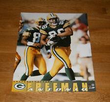1996 Antonio Freeman Green Bay Packers poster 16x20 Super Bowl XXXI original