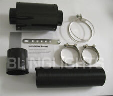 Universal Cold Air Intake Carbon Fiber Heat Shield/Internal Filter Element/Tube