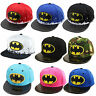 Batman enfants Casquette réglable garçon fille Hip Hop réglable Pic chapeaux