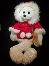 Chantilly Lane Musical Bear Sings Santa Baby Rare Moves Perfect Condition Rare