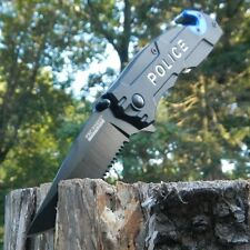 TAC-FORCE New Police Department Rescue Spring Assisted Open Folding Pocket Knife