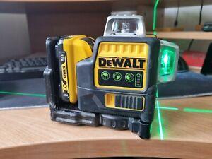DeWalt DCE089G Green Laser with Li Battery DCB127 TOP LASER DOESNT WORK