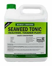 Seaweed Tonic 4L No Frills Organic Garden Fertiliser Conditioner NoFrills Kelp