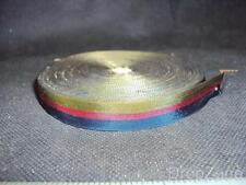 Military / Regimental Roll of Miniature Medal Ribbon, Red, Navy & Khaki Stripe