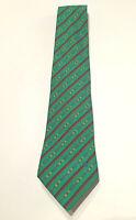CELINE Paris 100% Silk Belt Pattern Necktie