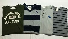 Lot Of 4 Men's Abercrombie & Fitch T Shirts med