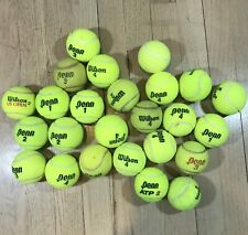 25 Used Tennis Balls Dog Toys Table Walker Feet Test Conveyor Belts Arts Crafts