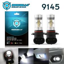9140 H10 LED Fog Light Bulb for GMC Sierra 1500 2500 HD 3500 6000K White Lamp