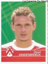 166 DAVID VANDENBROECK BELGIQUE KV.KORTRIJK STICKER FOOTBALL 2012 PANINI