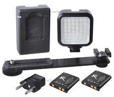Mini Portable LED Light Kit for Canon T5i T4i T3i T3 T2i T1i  60D 5D 650D 70D