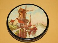 "VINTAGE 7"" ACROSS WINDMILL OLD BOAT TIN METAL CAN *EMPTY*"