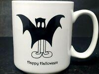 HALLOWEEN Bat Boy 16 oz. Coffee Mug Tea Cup Porcelain BIA Trick Or Treater
