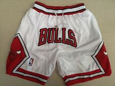 New Men Mitchell & Ness Bulls Red NBA Shorts Size X-XXL