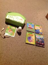 Pre Owned Leap Frog Tag Junior W/ 4 Books & Carrying Case.  See Pictures.