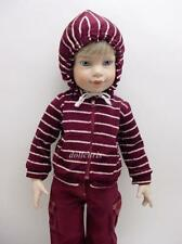 "Cargo Pants Striped Hoodie Just Pretend for Magic Attic Carpatina 18"" Slim dolls"