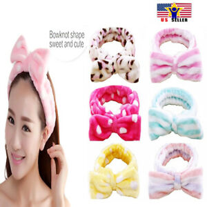Spa Bath Shower Make Up Wash Face Cosmetic Adult Terry Headband Hair Head Band