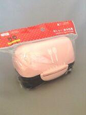 New Cute Onigiri Large Rice Ball case Bento Plastic Lunch box Pink 300ml